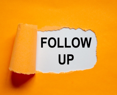 managing follow ups with your crm